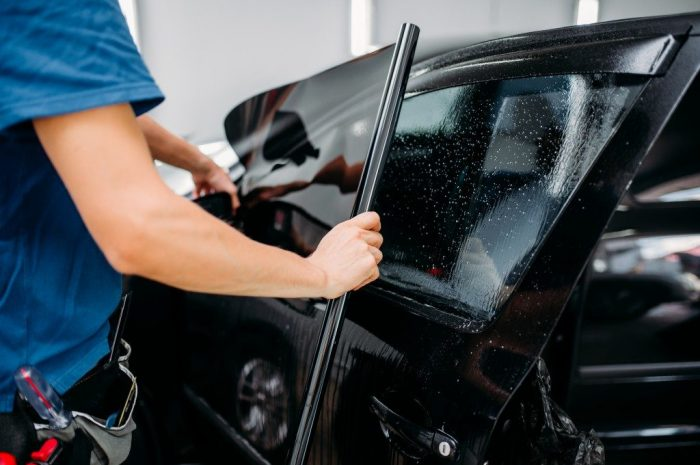 Legally allowed car tinting – here's what you need to know!